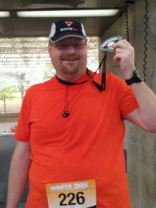I completed my first 5k.