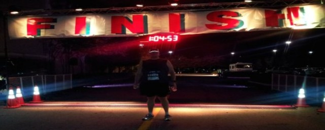 I ran a 5k at 1:50 in the morning, before the clock changed. One of my favorite running pictures.