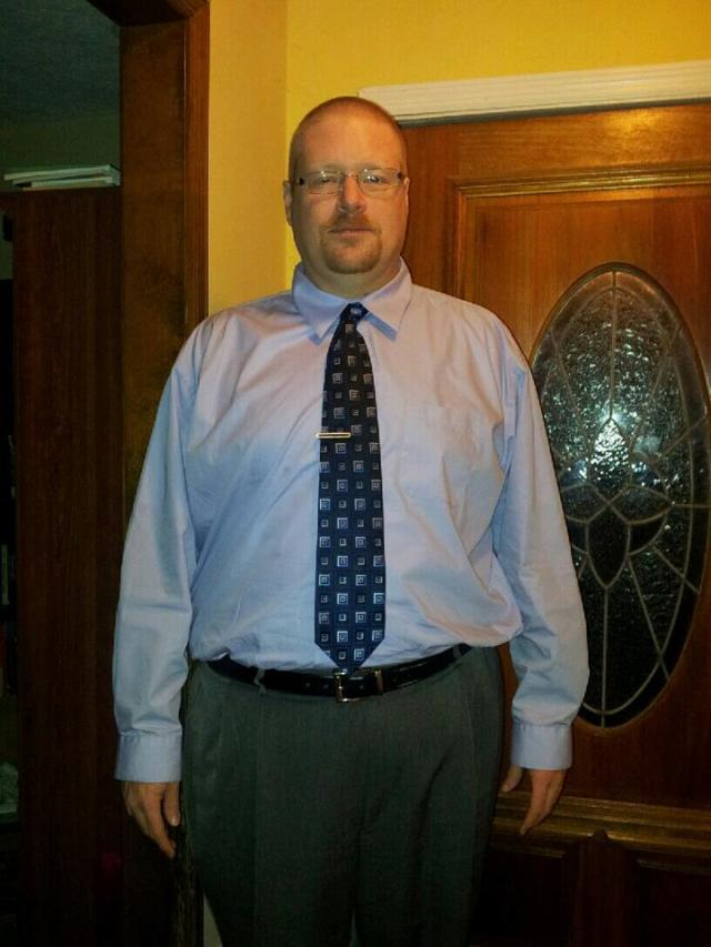 Of course now that I have worked so hard I try to look nice and professional. i like looking good in a tie!