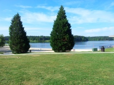 Cauble Park Acworth.  It was a great day for an open water swim.
