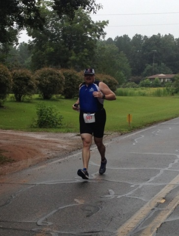 Looking better in my tri suit, a little anyways.  Maybe I should rename this blog fat guy in a tri suit.