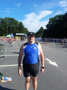 Obligatory afterwards self image.  Tri suits getting looser!