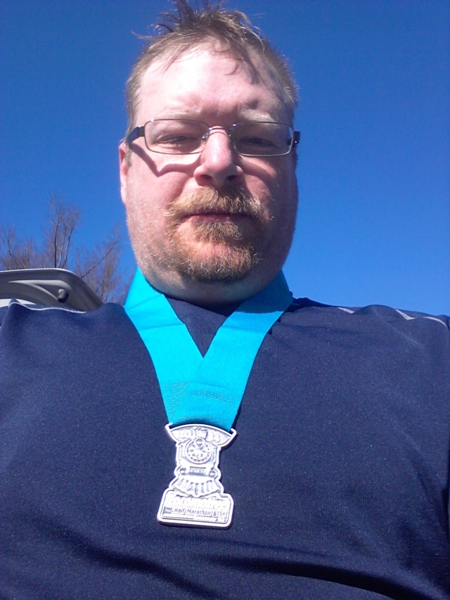 2nd Half Marathon Finished!