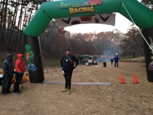 In 2014 I completed the Tortoise and Hare 50k, my first race over a half marathon in eleven and a half hours.  My big goal for 2015 is to run the race faster.