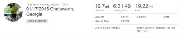 Click for the strava page.