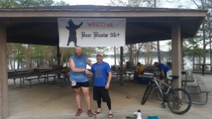 Got to enjoy the soreness of 34 miles with my good buddy Jason on his first 50k.